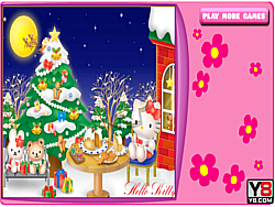Hello Kitty Jigsaw Puzzle game