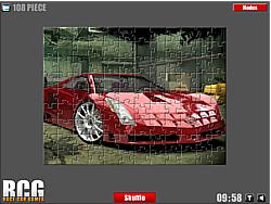 Cadillac Jigsaw game