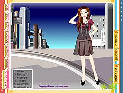 Girl Dressup 20 game