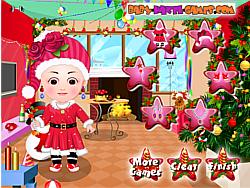Gioca gratuitamente a Baby Hazel Christmas Dress Up