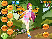 Flying Beauty Dress Up game
