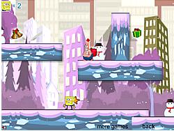 SpongeBob Snow Adventure game