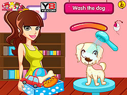 Puppy Beauty Spa game