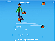 Ben10: Reach for the sky halloween game