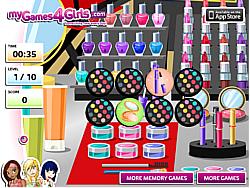 Jogar jogo grátis Make Up Memory Game