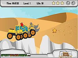 Truck Desert Racing game