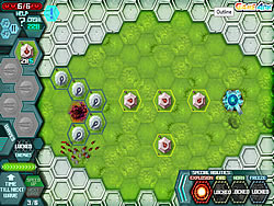 Hexagon Planet TD game