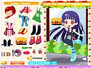 Fast Food Dressup game