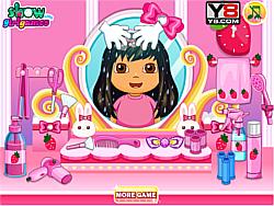 Gioca gratuitamente a After Term Begins Dora Haircuts 1