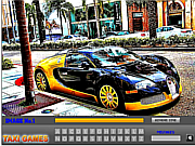 Luxury Taxi Hidden Letters game