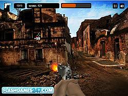 Permainan Combat Zone Shooter