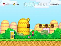 Super Mario 3: Star Scramble game