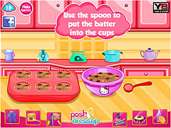 Hello Kitty's Choc-Chip Jelly Muffins game