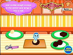 Shrek's Chocolate Chip Cookies game