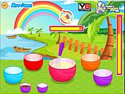 juego Rainbow Cupcakes