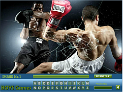 Boxing Hidden Letters game