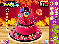 jeu Special Thanksgiving Cake 2013