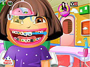 Dora Go to the Dentist game