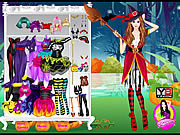 Witch Halloween Girl Fashion game