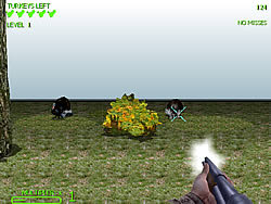 Turkey Shootout 3D game