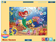 Ariel Jigsaw game