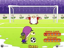 X-mas Penalties game