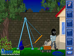 เล่นเกมฟรี Clumsy Robber