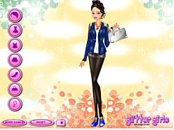 Barbi's Epaulettes Fashion game