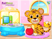 Baby Tiger Vet Care game