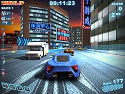 Spielen Sie das Gratis-Spiel  Turbo Racing 3 Shanghai
