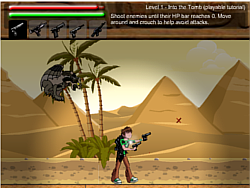 Ben 10 Omniverse Pyramid Adventure game