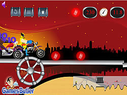 Wolverine Bike Ride game