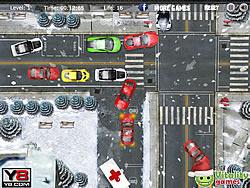 V8 Winter Parking game