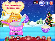Christmas Pudding Cake Pops game