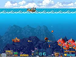 Submarine War game
