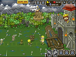 Knights vs Zombies game