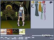 Katara Dressup game