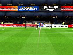 Flick Soccer 3D game