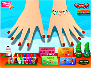 Sarah's Christmas Nail Art game