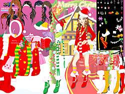 Gioca gratuitamente a Christmas Charlotte Dressup