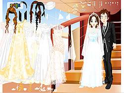 Wedding Couple Dressup لعبة