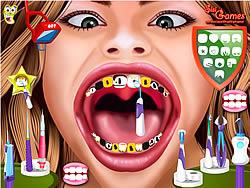 Hannah Montana at The Dentist game