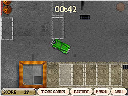 Old Cars Parking game