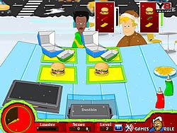 Christmas Hot Burger game
