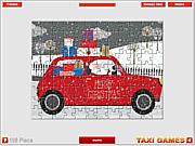 Christmas Taxi Jigsaw game