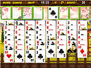 Samurai Solitaire y8 game