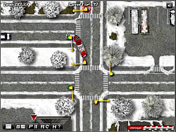 Winter Bus Driver game