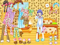 Gioca gratuitamente a Pajama Dressup