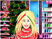 Barbie Christmas Real Haircuts game