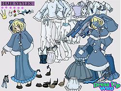 Gioca gratuitamente a Alice in Wonderland Dress Up